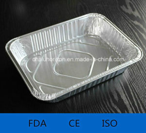 Household Aluminium/Aluminum Foil Container for Food pictures & photos