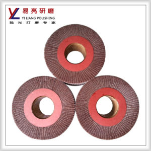 Iron Alloy Holloware Surface Interleaved Abrasive Buffer