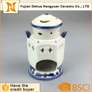 Islamic Style Design Ceramic Incense Burner for Home Decoration pictures & photos