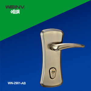 Zinc Alloy Mortise Lock Handle 2901 pictures & photos