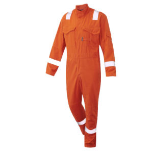 Cotton Safety Fire Retardant Overall Workwear Coverall pictures & photos