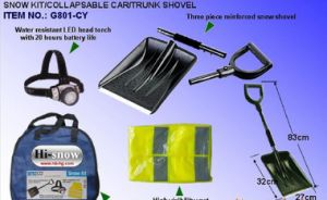 Detachable Car Snow Shovel with Handle pictures & photos