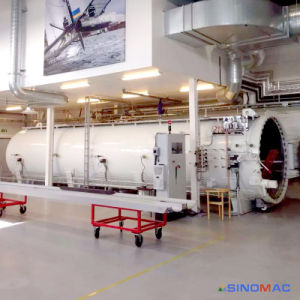 3000X12000mm Composite Autoclave for Curing Aircraft Parts (SN-CGF30120) pictures & photos