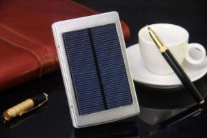 Green and Convenient Charger Solar Power Bank for Different Electronic Device pictures & photos