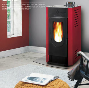 Automatic Feeding Pellet Stove with CE pictures & photos