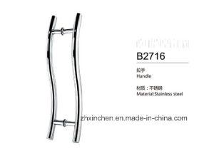 Xc-B2716 Stainless Steel Handle Bathroom Big Size Door Pull Handle pictures & photos