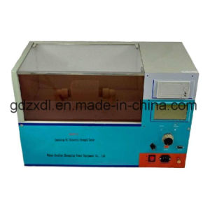 Single Cup Insulating Oil Dielectric Strength Tester pictures & photos