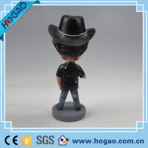 Make Your Custom Design Resin Bobblehead, OEM Toys Polyresin Trump Bobblehead pictures & photos