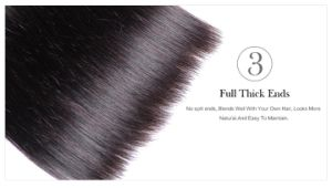 "Brazilian Straight Virgin Hair Cheap Brazilian Human Hair Silky Straight Weave 12"" pictures & photos"