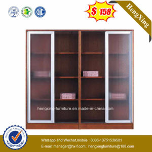 Modern 3 Aluminum Glass Doors File Cabinet Office Furniture (HX-4FL008) pictures & photos