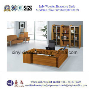 Modern Wooden Furniture Office Table with Metal Legs (M2610#) pictures & photos