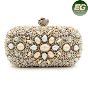 New Hot Sale Rhinestone Crystal Handbag Ladies Evening Clutch Purse Eb781 pictures & photos
