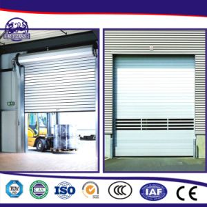 Turbine Motor Metal High Speed Industrial Door/High Speed Roll up Door/PVC Roll up Door pictures & photos