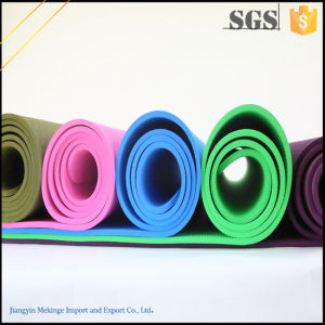 Fashionable TPE Yoga Mat, Yoga Mat Eco Made in China pictures & photos