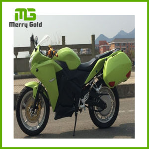 EEC Approved Lithium Battery 6000W Adult Fast Electric Motorcycle pictures & photos