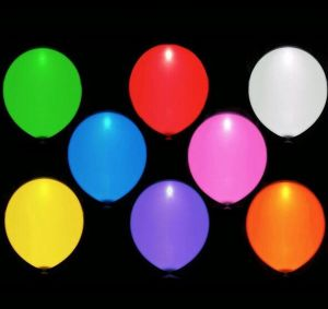 12 Inch Wedding Party Decoration RGB LED Flash Advertising Balloon pictures & photos