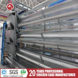 Highly Automatic Q235 Steel Wire Mesh Cage for Laying Hens pictures & photos