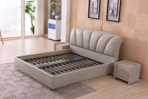 New Modern Design Bedroom Furniture Bed (9556) pictures & photos