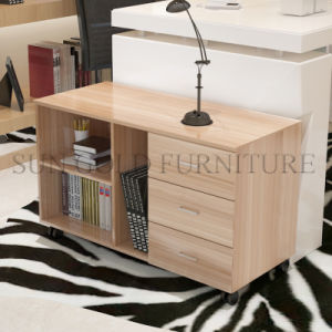 Factory Direct Wooden Office Filing Shelf Cabinet with Drawer (SZ-FCT625) pictures & photos
