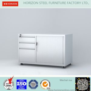 Mobile Caddy Filing Cabinet with 3 Drawers and Tambour Door Hot Wholesale pictures & photos