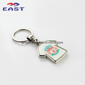 Customized T-Shirt Lovely Epoxy Metal Key Holder pictures & photos