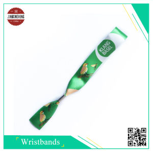 Fashionable Satin Sublimation Wristband for Party pictures & photos