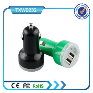 Car Charger with Single Cable Universal Mini USB GPS Car Charger for iPhone