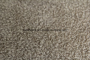 Combined Fabric of Shu Velveteen and Micro Fleece pictures & photos
