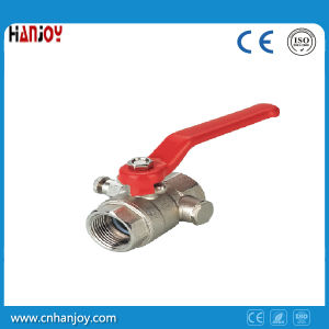 High Quality Brass Ball Valve with Drain off Cock (NV-1081) pictures & photos