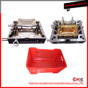 Plastic Injection/High Quality Vegetables Crate Mould pictures & photos