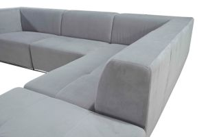 Furniture Suppliers China Modern Sofa with Fabric Sofa Design L Shaped pictures & photos