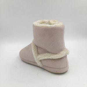 Lds Comfortable Microfiber Indoor Boots pictures & photos