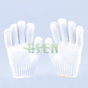 2017 Hot Selling White Polyester Glove pictures & photos