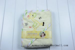 Wholesales Baby Cotton Bath Towel Hooded Towe pictures & photos
