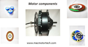 Mac Ebike Rear Motor Laced to Rim pictures & photos