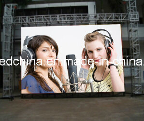 HD P4.81 Outdoor Rental LED Video Wall pictures & photos