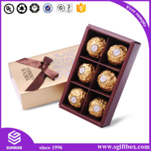 Laser Cut Paper Design Wedding Chocolate Candy Box pictures & photos