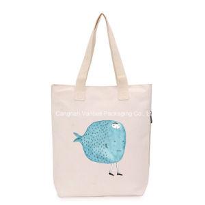 Customized Canvas Tote Handbag Cotton Bag for Beach pictures & photos