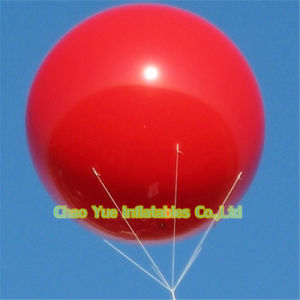 Hot Sale Inflatable Advertising Helium Balloon with Free Logo Printing pictures & photos