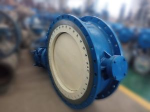 Electric Metal Seated Butterfly Valve pictures & photos