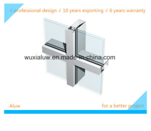Glass Curtain Wall (visible curtain wall) pictures & photos