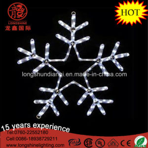 LED White Hanging Snowflake Christmas Light for Xmas Decoration pictures & photos