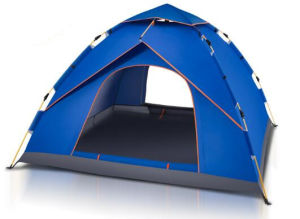 Outdoor Portable Single Layer Waterproof Automatic Camping Tent pictures & photos