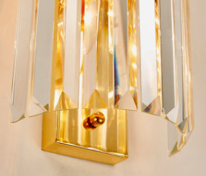 Luxury Post Modern Style Hotel Crystal Sconce Wall Lamp for Living Room pictures & photos