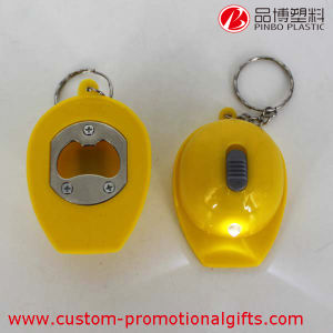 Helmet Design Special Bottle Opener with LED Light