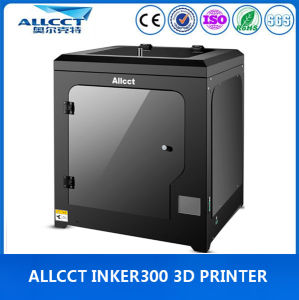 LCD-Touch 0.05mm Precision Large Size Desktop 3D Printer in Office pictures & photos