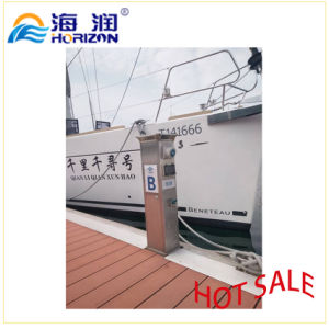Aluminum Alloy Power Service Bollard Floating Bridge Marina pictures & photos