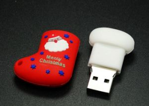 Xmas Gadgets Socks Merry Christmas USB Flash Drive 2016 Onsale pictures & photos