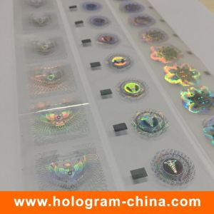 Wash Aluminum Hologram Hot Stamping Foil pictures & photos