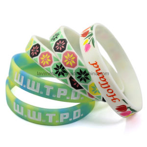 Custom Colourful Scented Silicone Wristband pictures & photos